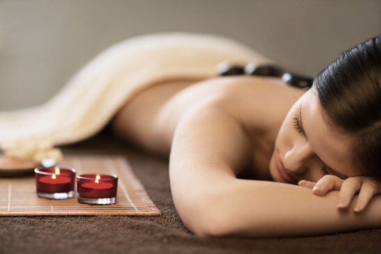 Hot Stones Treatment Included In All Massage